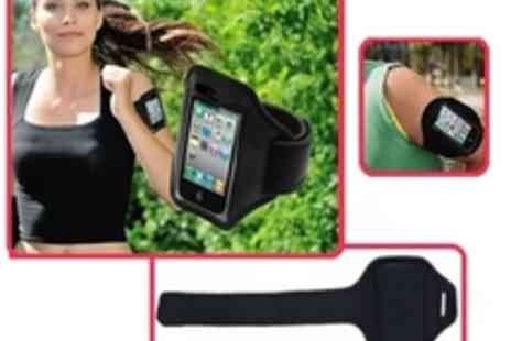 Deal App - Waterproof Sport Armband for iPhone 4 or 5 - Save 63%