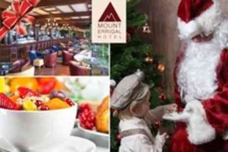 The Mount Errigal Hotel - Festive Overnight Stay For Two Adults and Two Kids Including Visit - Save 34%