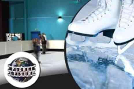 Planet Leisure - Ice Skating and Drinks For Two - Save 67%