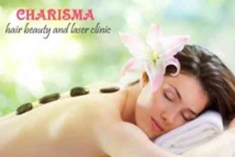 Charisma Health and Beauty Clinic - Hot Stone Massage and Body Scrub For One - Save 73%