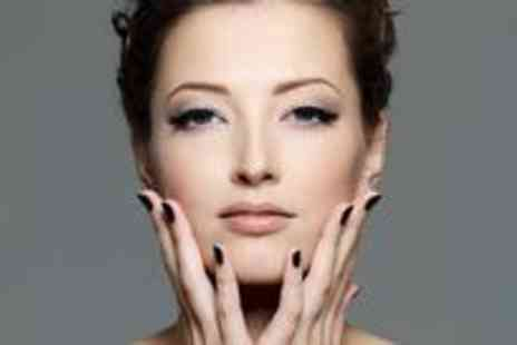 Mimosa Hair and Beauty - Gorgeous Shellac manicure and deluxe facial - Save 80%