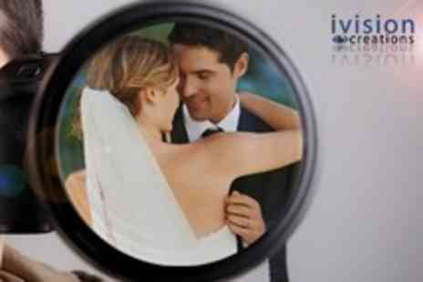 Ivision Creations - Wedding Photography Package With CD of Images - Save 63%