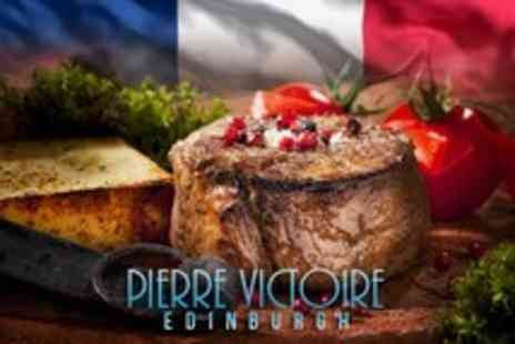 Pierre Victoire - Three Course French Meal For Two - Save 50%