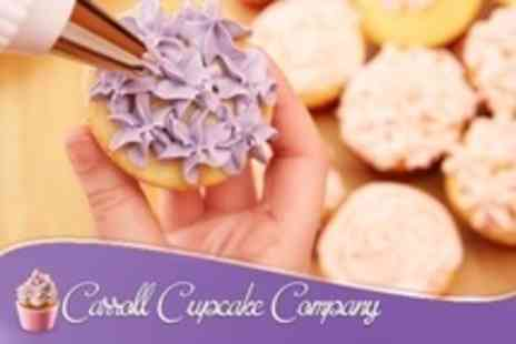 Carroll Cupcake Company - Cupcake Decorating Workshop For One - Save 64%