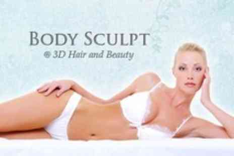 Body Sculpt - Three Ultrasonic Cavitation Sessions - Save 41%