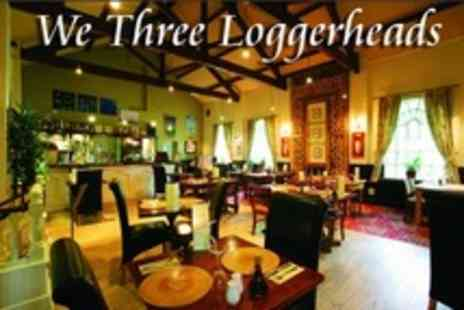 We Three Loggerheads - Two Course Pub Meal For Two - Save 54%
