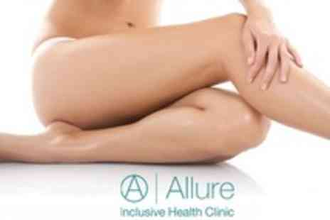 Allure Clinic - Course of Three Laser Lipolysis Treatments With Vibration Plate Sessions - Save 84%