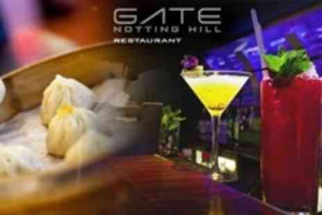 The Gate Notting Hill - Dim Sum and Champagne Cocktails For Two - Save 55%