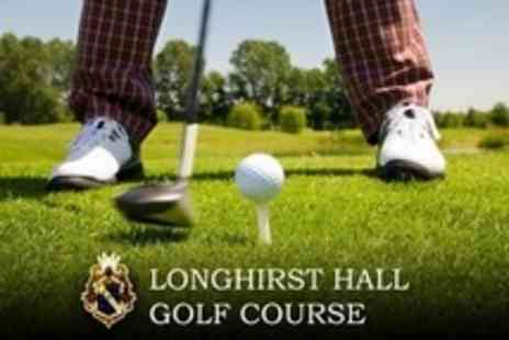 Longhirst Hall Golf Course - 18 Golf Holes For Two Plus Driving Range Balls - Save 61%