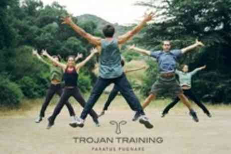 Trojan Training - 10 Boot Camp and Hit Fit Passes For One Person - Save 14%