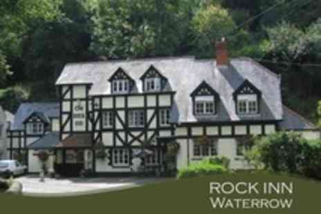 The Rock Inn - One Night Stay For Two With Wine and Breakfast - Save 55%
