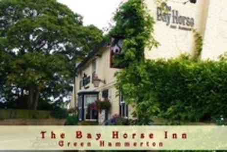 The Bay Horse Inn Masham - Two Night Stay For Two With Breakfast - Save 54%
