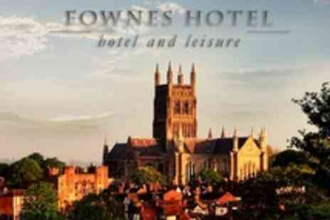 The Fownes Hotel - One Night Stay for Two With Breakfast Each Morning - Save 22%