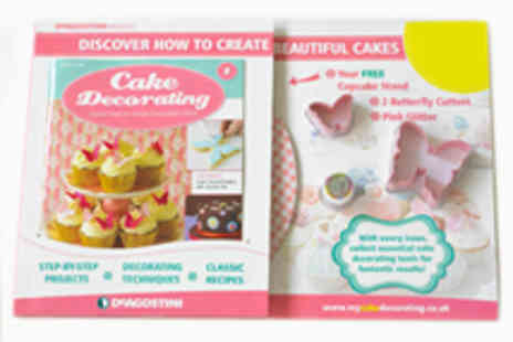Cake Decorating Magazine - Five Issues of Cake Decorating Magazine - Save 46%