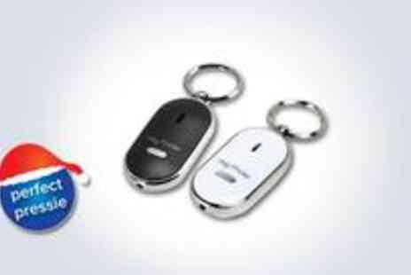 46 Forty Six - Set of two whistle activated Key Finder keyrings - Save 50%