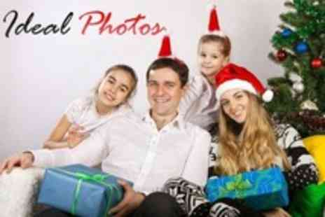 Ideal Photos - Group Photo Shoot With Prints - Save 50%