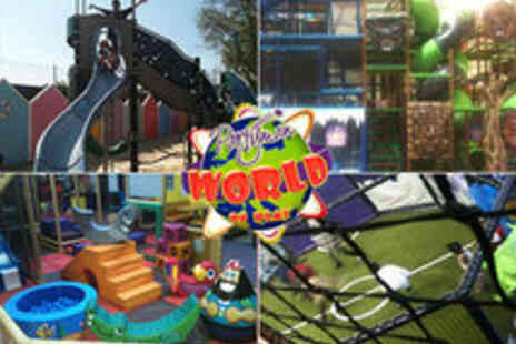 Partyman World of Play - Indoor/Outdoor Activity Centre 'Partyman World of Play', Wembley - Save 50%