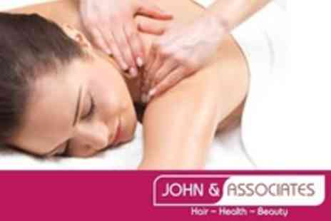 John and Associates - 90 Minute Aromatherapy Full Body Massage - Save 71%