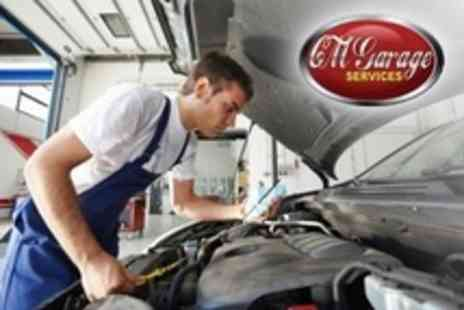 CM Garage Services - MOT With 54 Point Health Check Plus Oil and Filter Change - Save 78%
