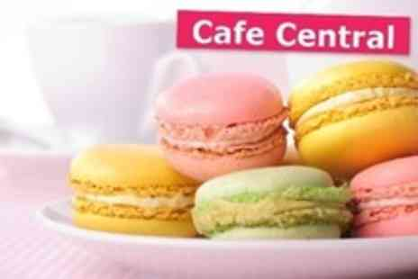 Cafe Central - Macaron Making Workshop With Tea and Cakes For One - Save 40%