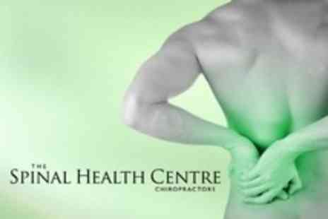 The Spinal Health Centre - Neck and Back Consultation Plus Four Chiropractic Sessions - Save 83%