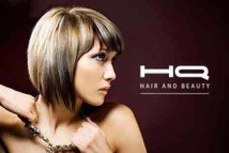 HQ Hair and Beauty - T Section Highlights With Cut and Blow Dry - Save 69%