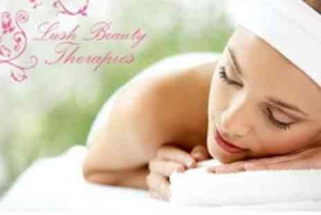 Lush Beauty Therapies - Massage Plus Manicure and Pedicure - Save 65%