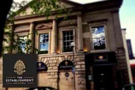 The Establishment Bar - Winter Afternoon Tea For Two - Save 30%