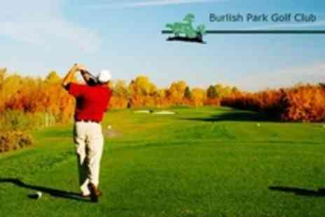Burlish Park Golf Club - Overnight Stay For Two With Two Rounds of Golf - Save 71%