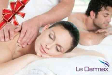 Le Dermex Cosmetic - Pamper Package With Three Treatments Lasting Up to Two Hours For One - Save 73%