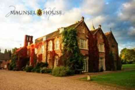 Maunsel House - Wedding Package With 13 Rooms, Breakfast, High Tea and Evening Hog Roast For 50 Guests - Save 50%