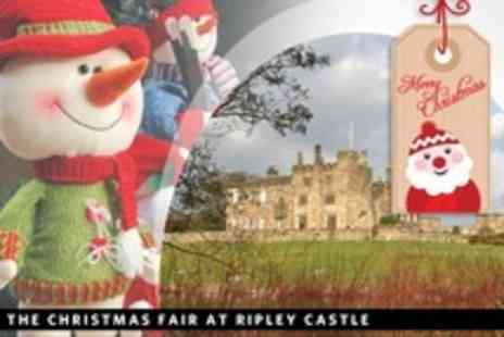UK Grand Sales - Entry For Two to The Christmas Fair at Ripley Castle - Save 57%
