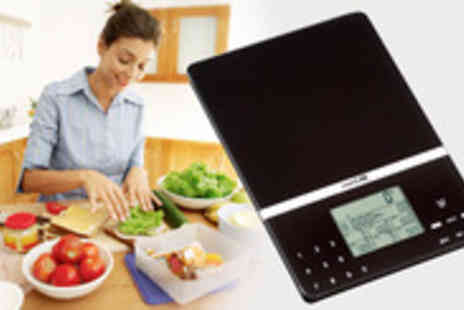 Wellbeing and Healthcare (BGSL) - Keep track of your diet and nutrition with these SmartLab kitchen scales - Save 56%