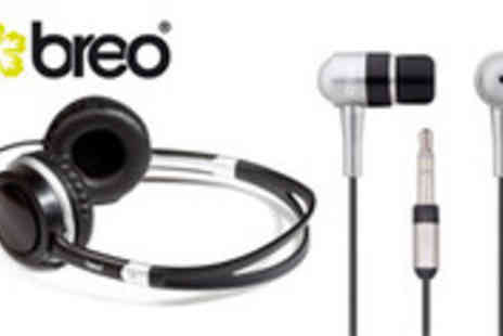 Brand Arena - Breo headphones and earphones set with Free delivery - Save 57%