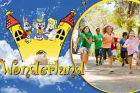 Wonderland Telford - Five Tickets With Access to Soft Play Area, Rides and Maze - Save 20%