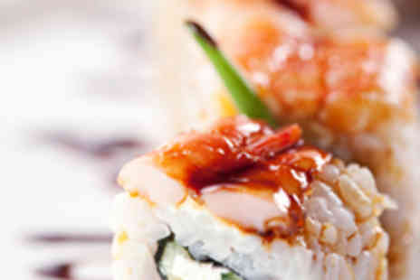 Oishii Oishii Sushi - 28 Piece Sushi Platter for Two with Miso Soup Each - Save 62%