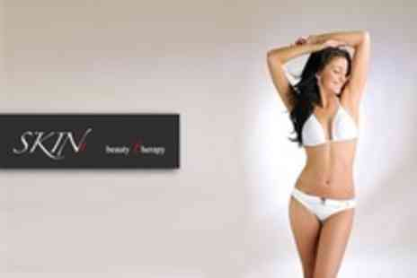 SKIN t Beauty - Six IPL Hair Removal Sessions On One Large - Save 9%
