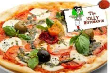 The Jolly Ristorante - Two Course Italian Meal With Wine For Two - Save 63%