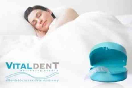 Vitaldent Wellbeing Studio - Made to Measure Dental Mouth Guard - Save 25%