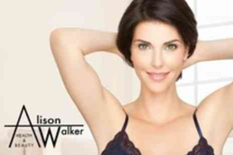 Alison Walker Health and Beauty - Six IPL Hair Removal Sessions on a Small - Save 10%