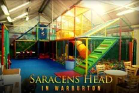 The Saracens Head - Play Barn Entry With Drinks and Cake For Two - Save 59%