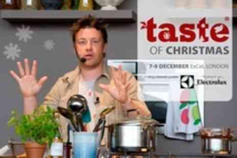 Taste of Christmas - Christmas Weekend Tickets to Gourmet Food Festival Featuring Jamie Oliver  - Save 52%