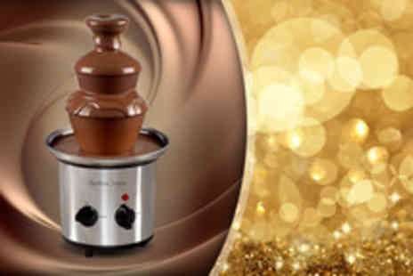 Andrew James - Premium stainless steel chocolate fountain - Save 33%