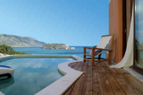 Domes of Elounda - A five star resort with sea view suite private Jacuzzi half board and all travel - Save 15%