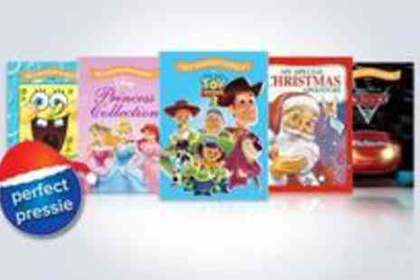 Identity Direct - Set of three regular sized personalised childrens story books make your kid the star character - Save 50%