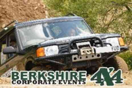 Berkshire 4x4 - Half Day Off Road 4x4 Driving Session - Save 60%