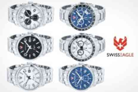 Swiss Eagle - Swiss Eagle Mens Designer Swiss Watches - Save 60%