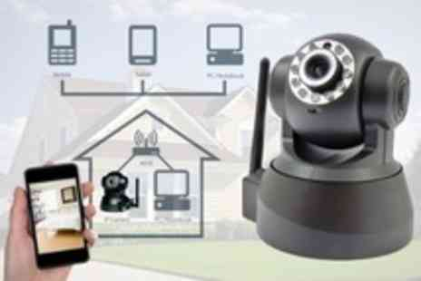 Storage Options - Wireless IP Camera With Night Vision Mode - Save 46%