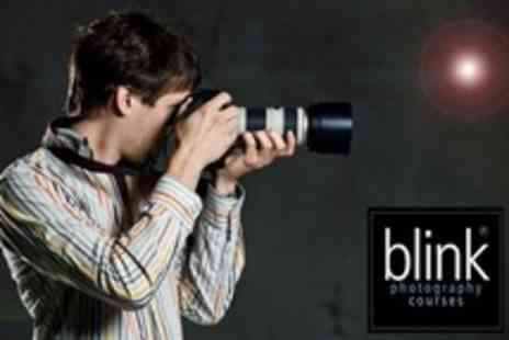 Blink Photography Courses - Three Hour DSLR Class - Save 71%