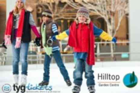 Hilltop Garden Centre - Outdoor Ice Skating For Two - Save 50%